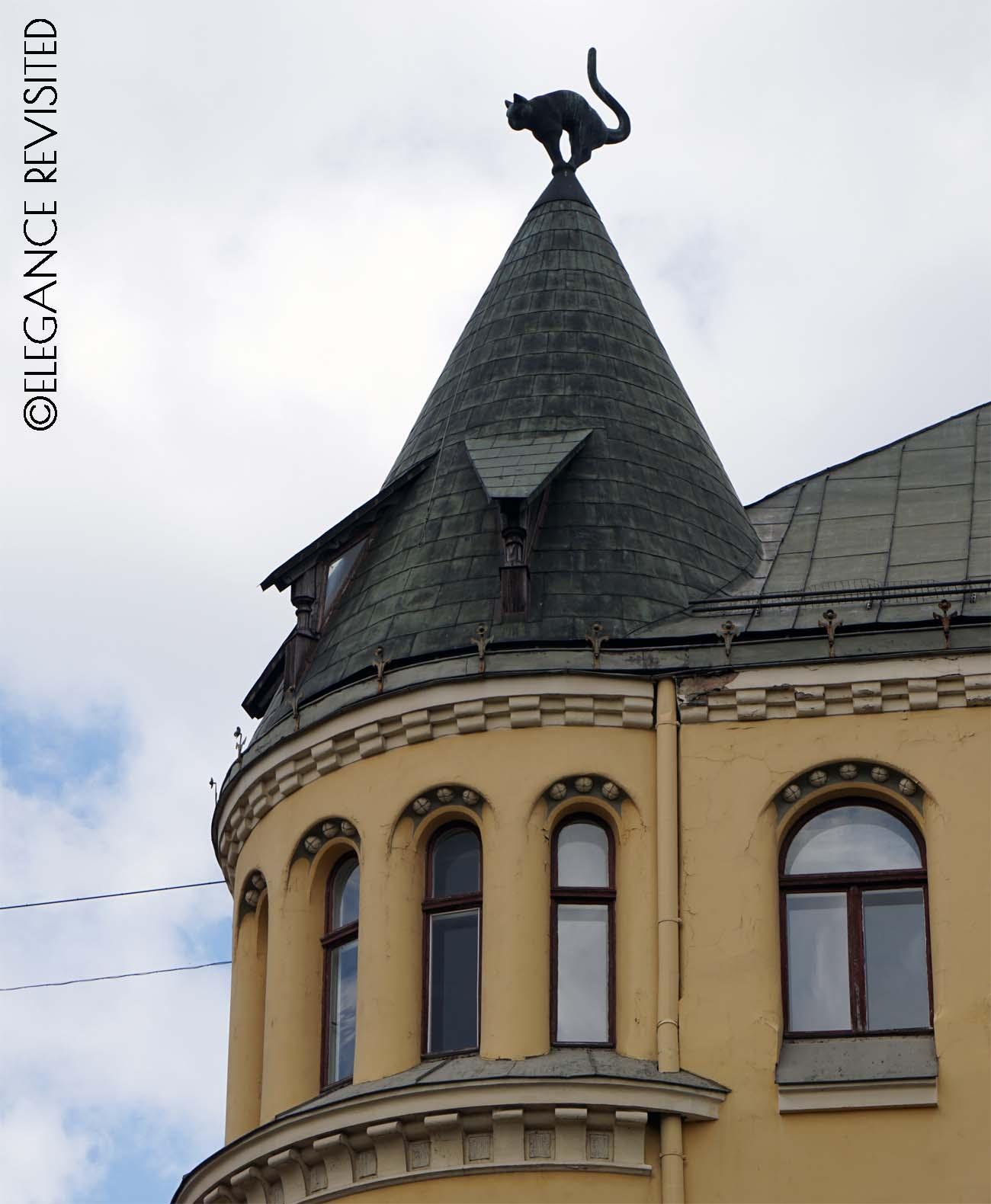 Riga cat building