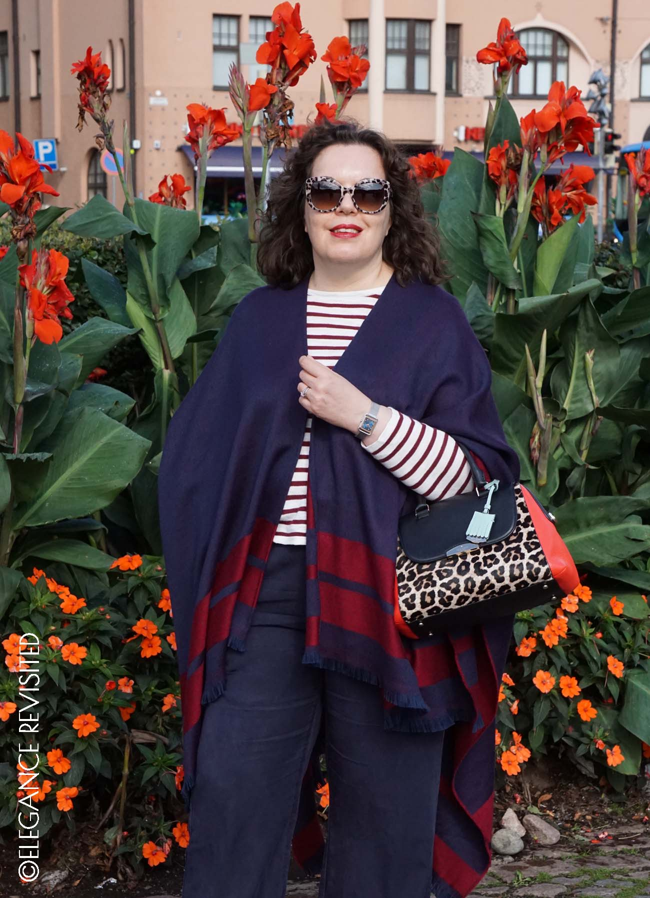 how to wear leopard print over 50